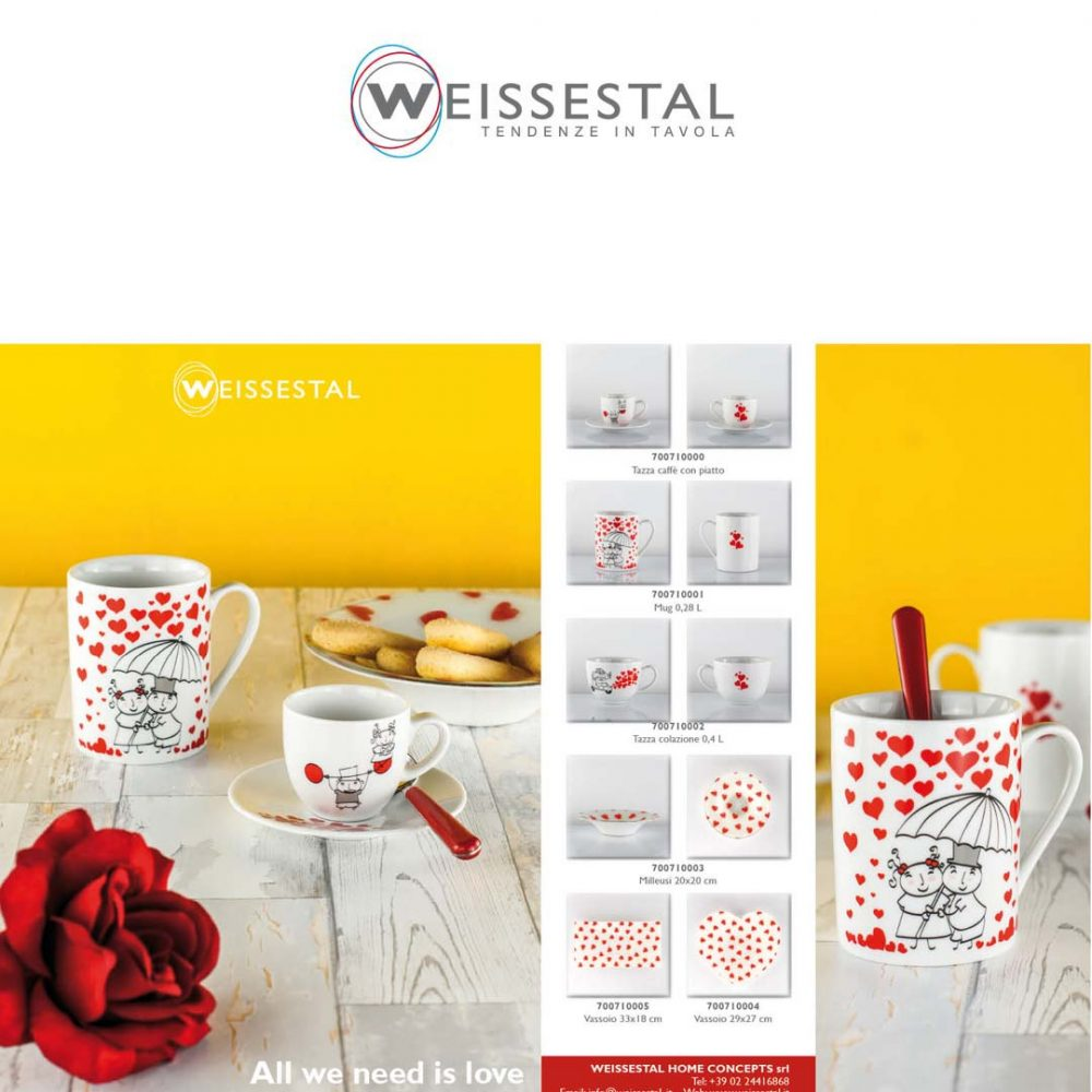 All you need is love - WEISSESTAL