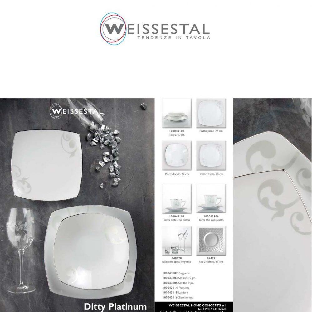 Ditty Platinum - WEISSESTAL