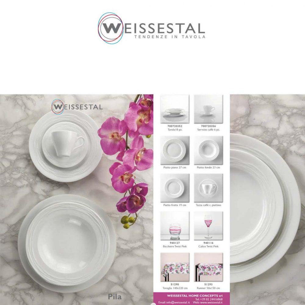 Pila - Porcellana bianca - WEISSESTAL