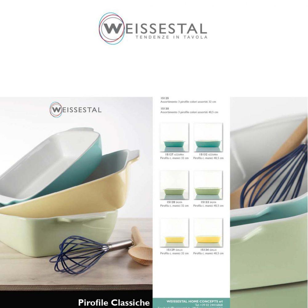 Pirofile Classiche - WEISSESTAL
