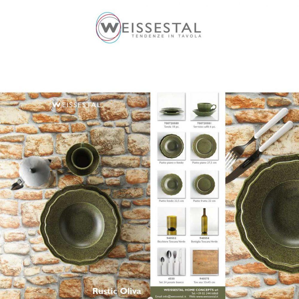 Rustic oliva - WEISSESTAL