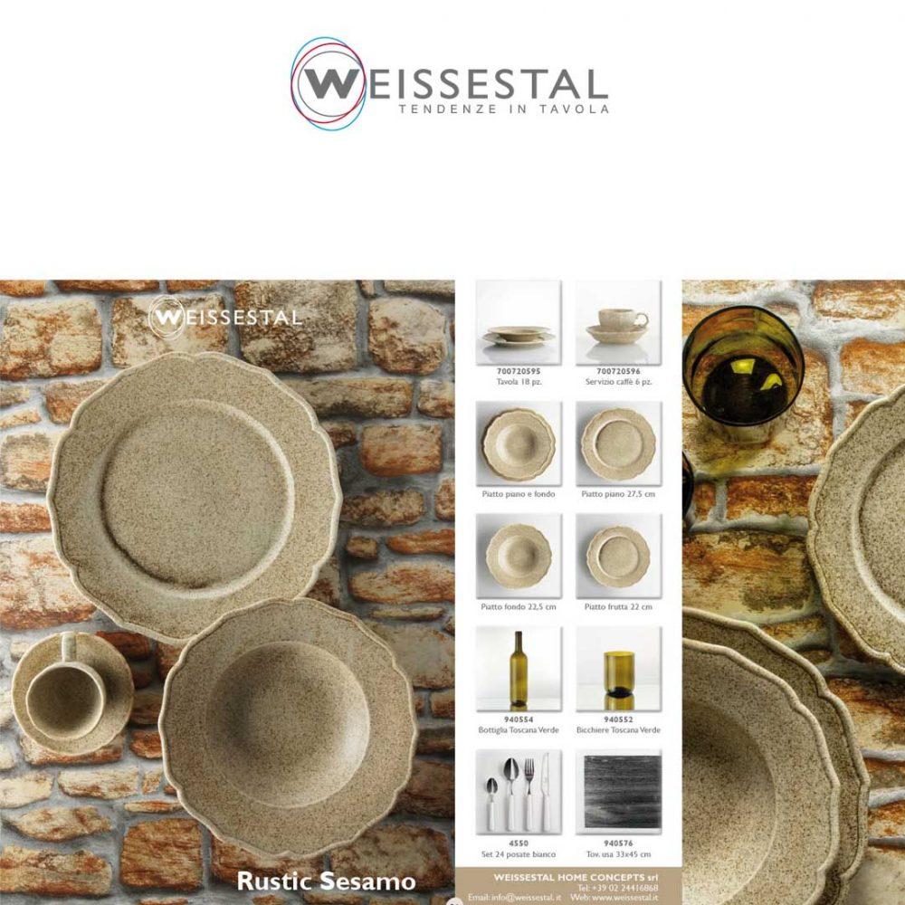 Rustic sesamo - WEISSESTAL