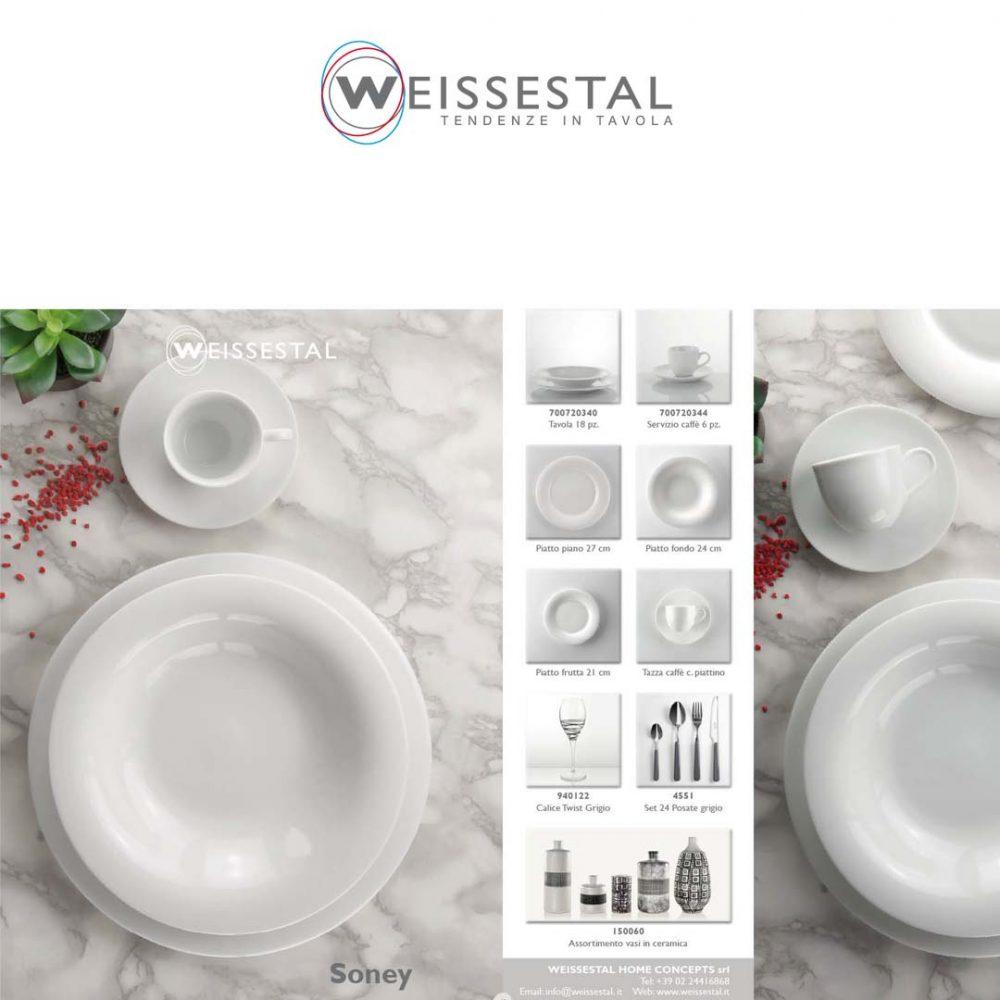 Soney - Porcellana bianca - WEISSESTAL
